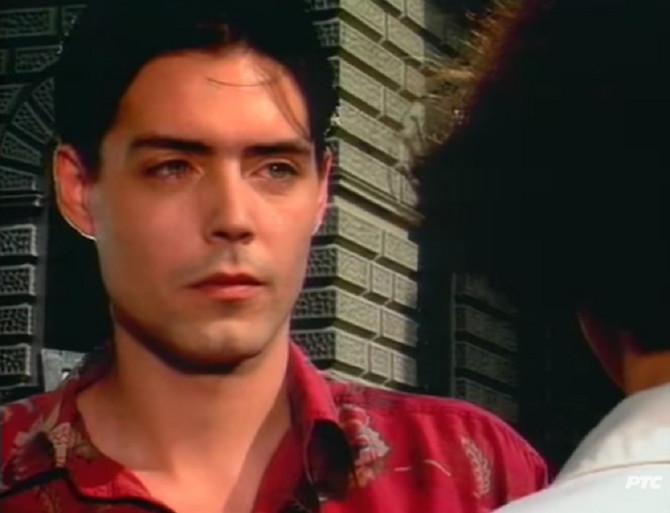 """Igor Pervić kao Dejan 1993. u filmu """"Suze i njene sestre"""""""