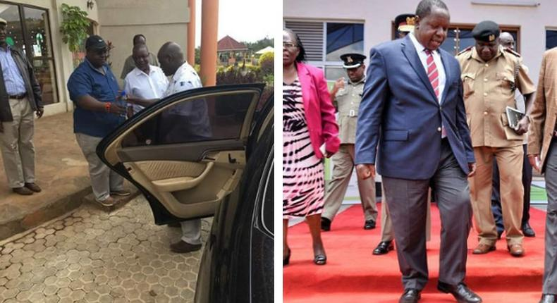 Joseph Ogendo; politician accused of impersonating Matiang'i in gold scandal surrenders to DCI