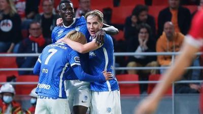 Paul Onuachu nets brace as Genk lose away in the Belgian league