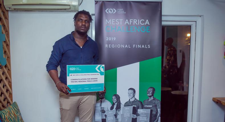 Abdul-Jabbar Momoh, Co-founder/CEO of AMPZ