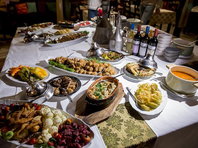 """Ovo je samo delić onoga što ćete moći da probate na danima bosanske kuhinje u restoranu """"Kovač""""."""