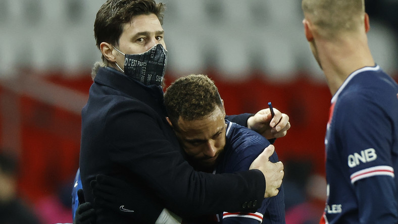 Mauricio Pochettino i Neymar