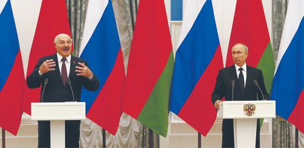 Kolejne spotkanie Alaksandra Łukaszenki i Władimira Putina nie przybliżyło aneksji Białorusi