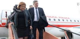 Komorowski poleciał do Brukseli spotkać się z Tuskiem