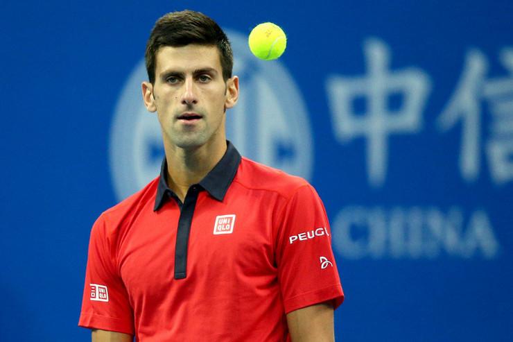 Novak Đoković na turniru u Pekingu 2015. godine