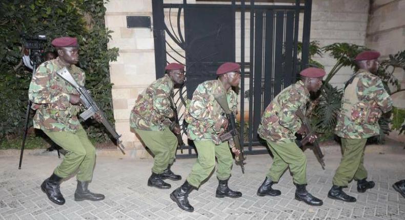Security agencies responding to the Dusit D2 terrorist attack