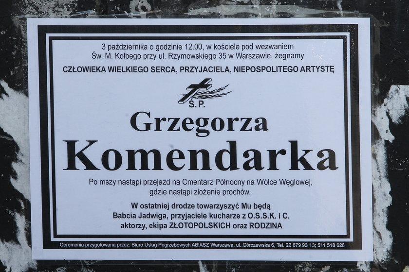 Jak zginął Grzegorz Komendarek i znana pisarka