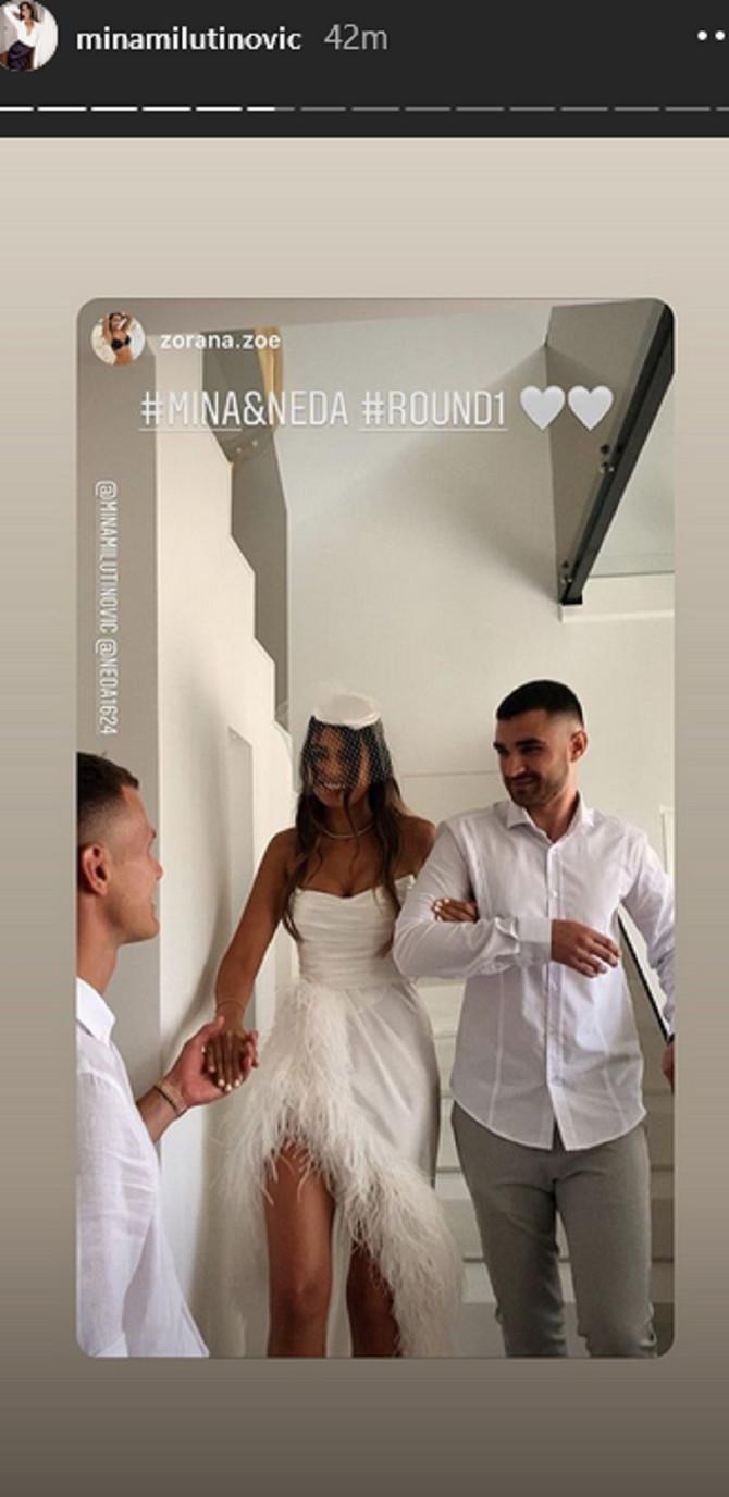 Prekrasna venčanica na Mini Milutinović