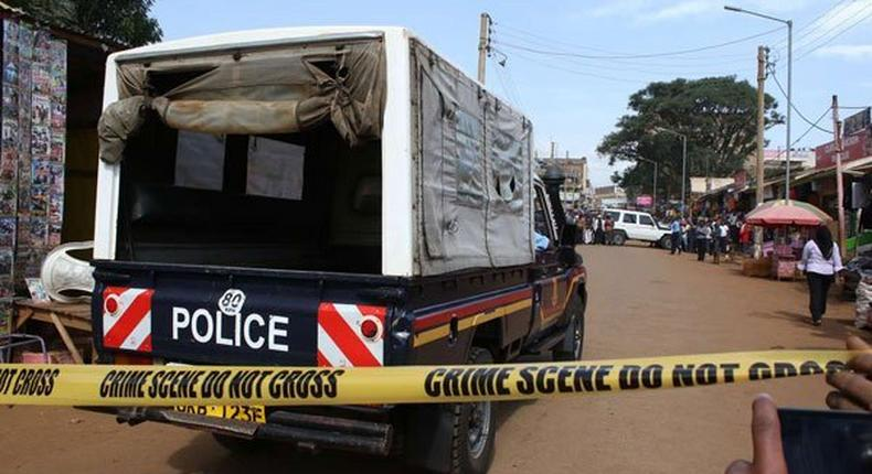 A man in Narok has been arrested by police after killing his wife's lover in cold blood after catching them in bed