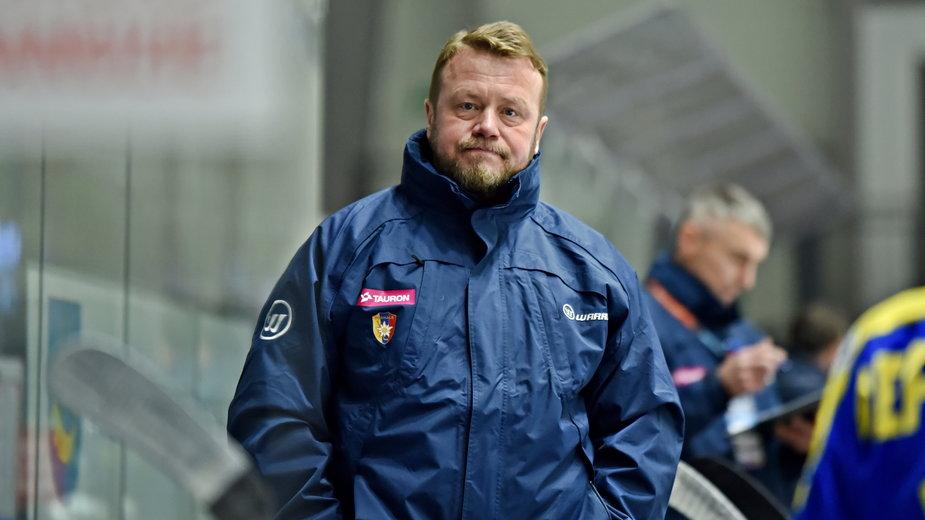 Andriej Gusow - trener Tauronu Podhala Nowy Targ