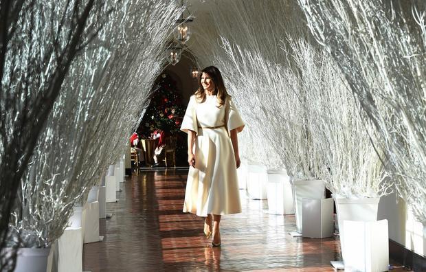 Melanijina božićna čestitka