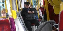 Zamachowski jeździ do pracy tramwajem [FILM]