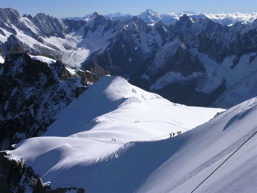 W Alpach znaleziono zwłoki młodego Polaka