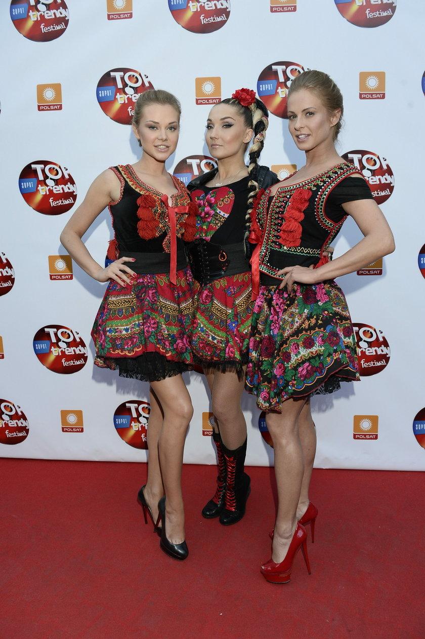 Cleo, Paula Tumala i Ola Ciupa w maju 2014 roku