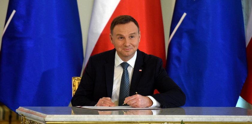Prezydent Duda podpisał nowelizacje ważnych ustaw