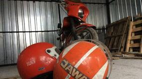 Motocykl z napadu stulecia wystawiony na sprzedaż!