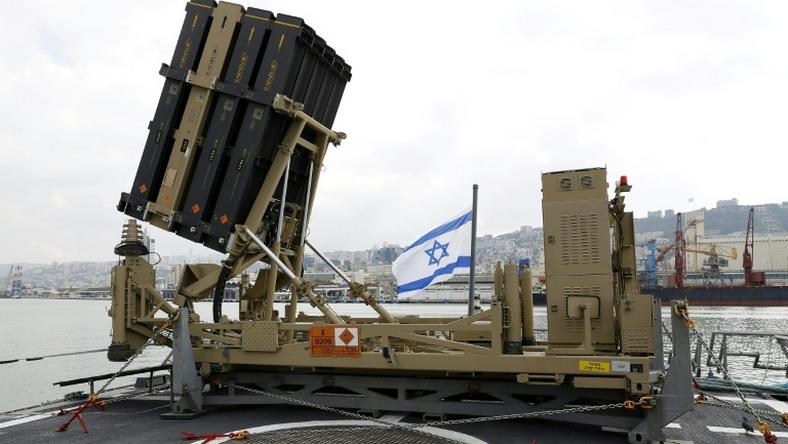 "Contrary to a report by the foreign ministry, an army statement said that ""no interceptions were made"" by its Iron Dome missile defence system"