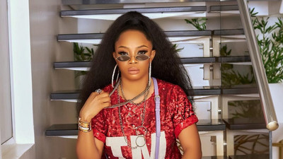 Toke Makinwa speaks against bashing women for the wrong of their partners