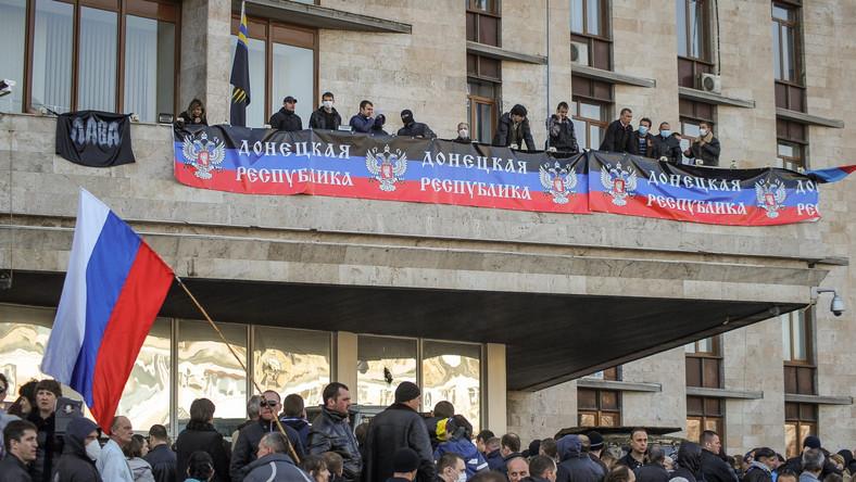 Napięta sytuacja na wschodzie Ukrainy. Kolejne starcia z separatystami