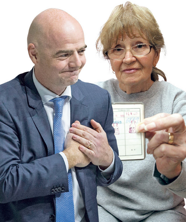 Đani Infantino i Milica Mučalica