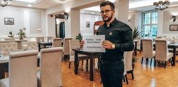 Dostał 30 tys. zł kary i nadal otwiera restaurację