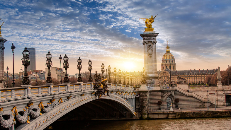 Most Aleksandra III, Paryż