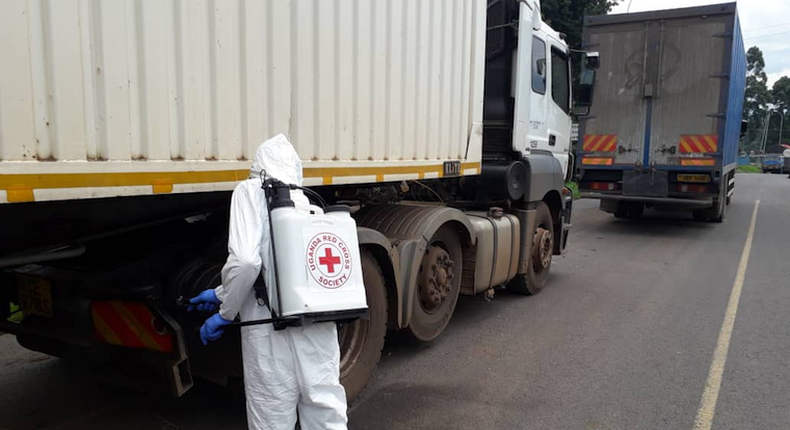 7 truck drivers escape into Uganda after testing positive for Covid-19