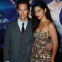 Matthew McConaughey i Camila Alves na premierze w Londynie