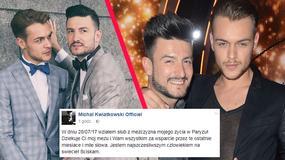 Michał Kwiatkowski pochwalił się zdjęciami ze ślubu. Myśli z mężem o adopcji dziecka?