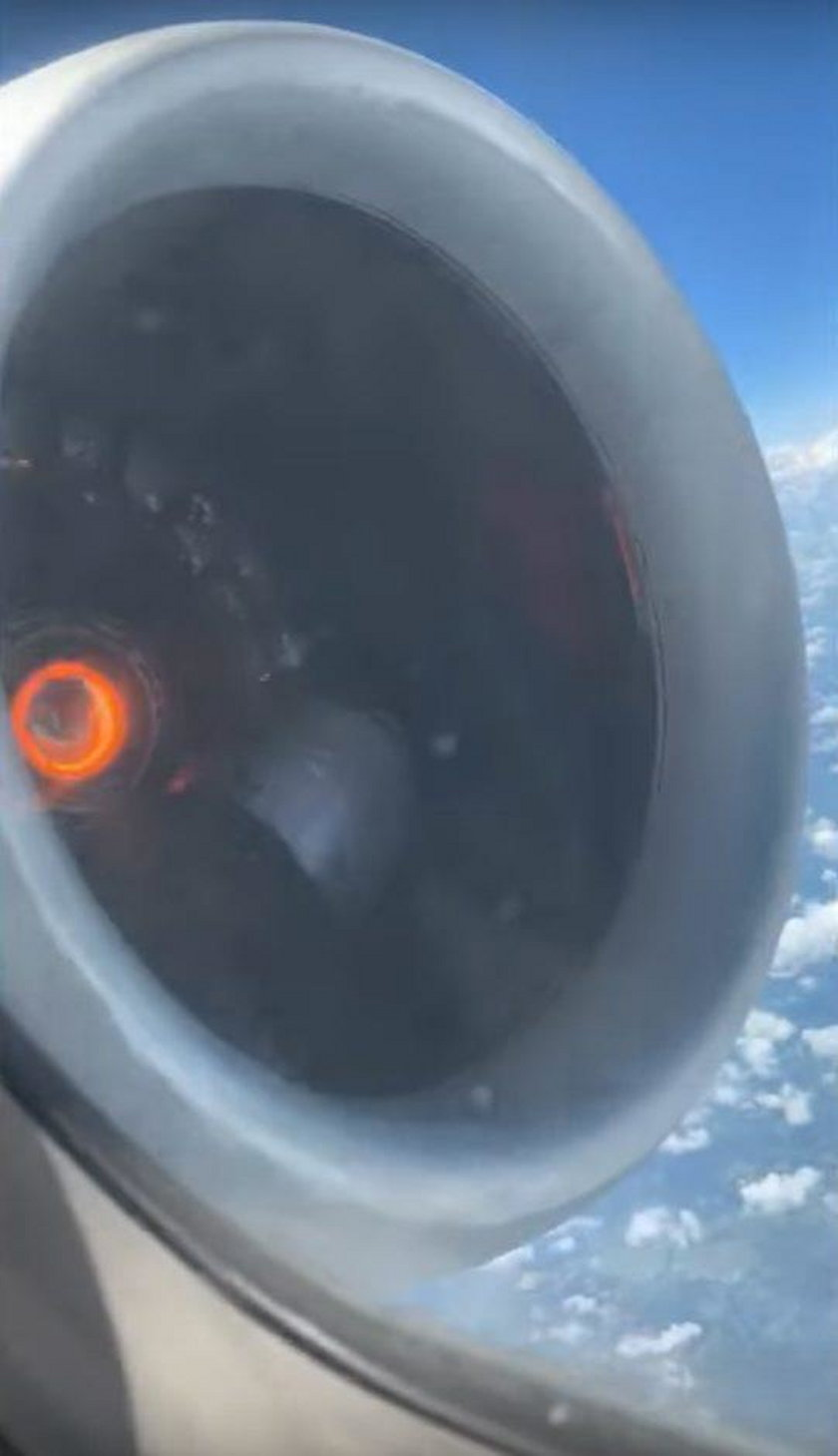 USA: Silnik samolotu rozpadł się podczas lotu