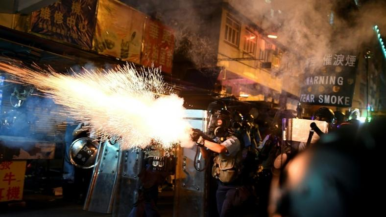 Police and pro-democracy protesters in Hong Kong have been locked in an increasingly violent struggle over 10 weeks