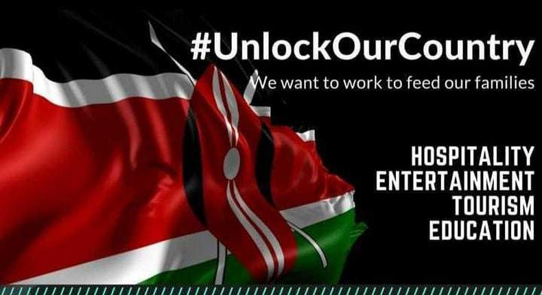 Unlock Our Country- Kenyans/Artistes tell President Uhuru as they air out their Frustrations & Struggles