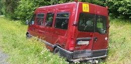 Wypadek busa ze szkolną wycieczką. Ranni uczniowie