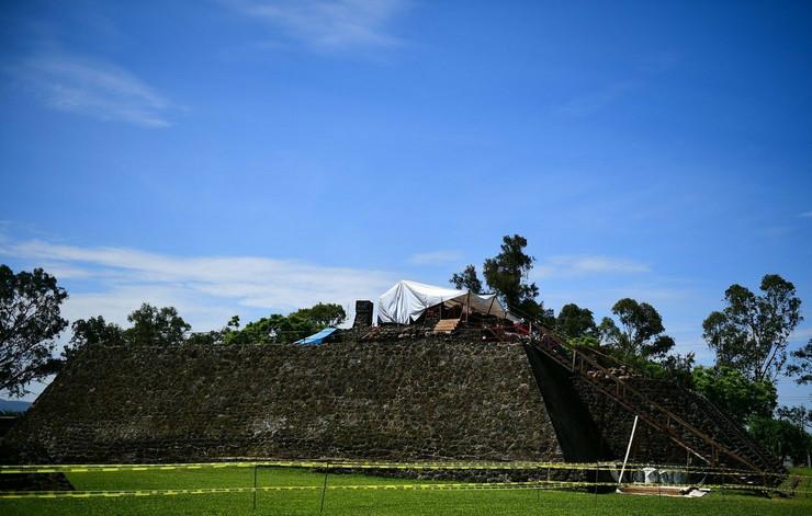 meksiko piramida Teopanzolko