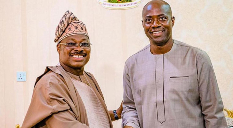 Ajimobi wishes Makinde quick recovery from Coronavirus