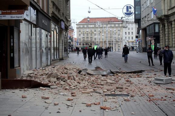 Zemljotres u Zagrebu