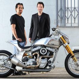 KRGT-1 - motocykl od Keanu Reevesa