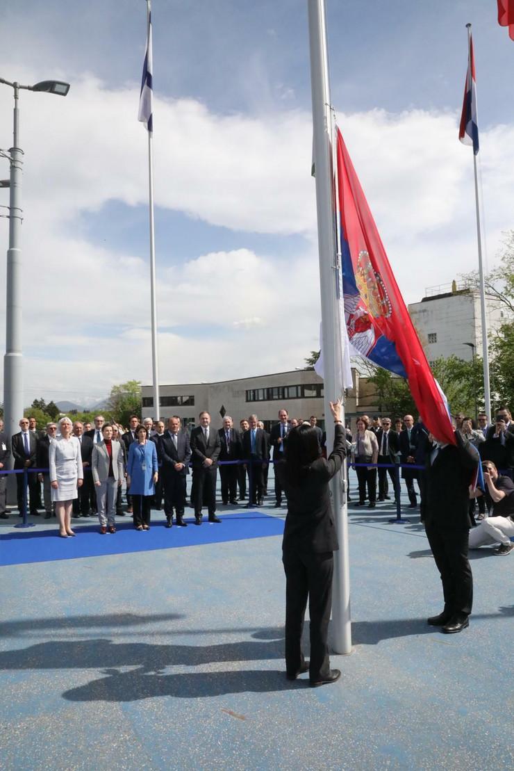 CERN, Ana Brnabić, Ženeva