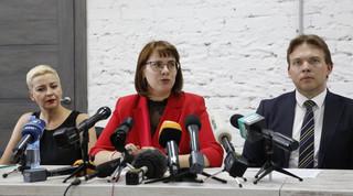 Nieumundurowane osoby zatrzymały w centrum Mińska Maryję Kalesnikawą z kierownictwa Rady Koordynacyjnej