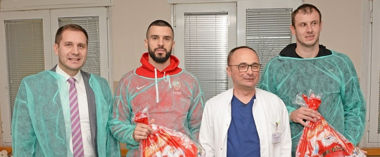 Branko Lazić i Novica Veličković u Tiršovoj
