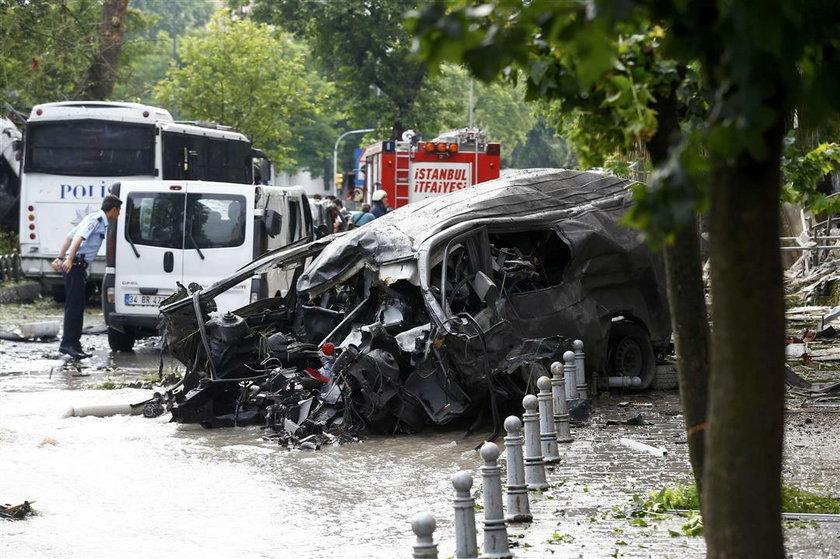 Zamach w Stambule