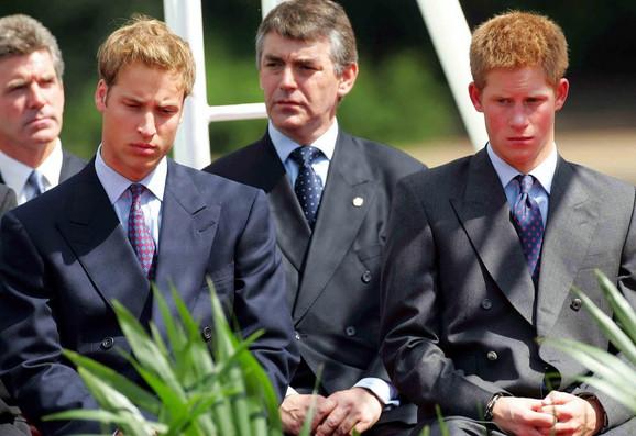 Princ Hari i Vilijam kada su bili mlađi