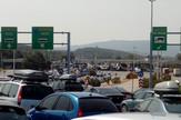 Ogromne kolone na graničnim prelazima u jeku sezone