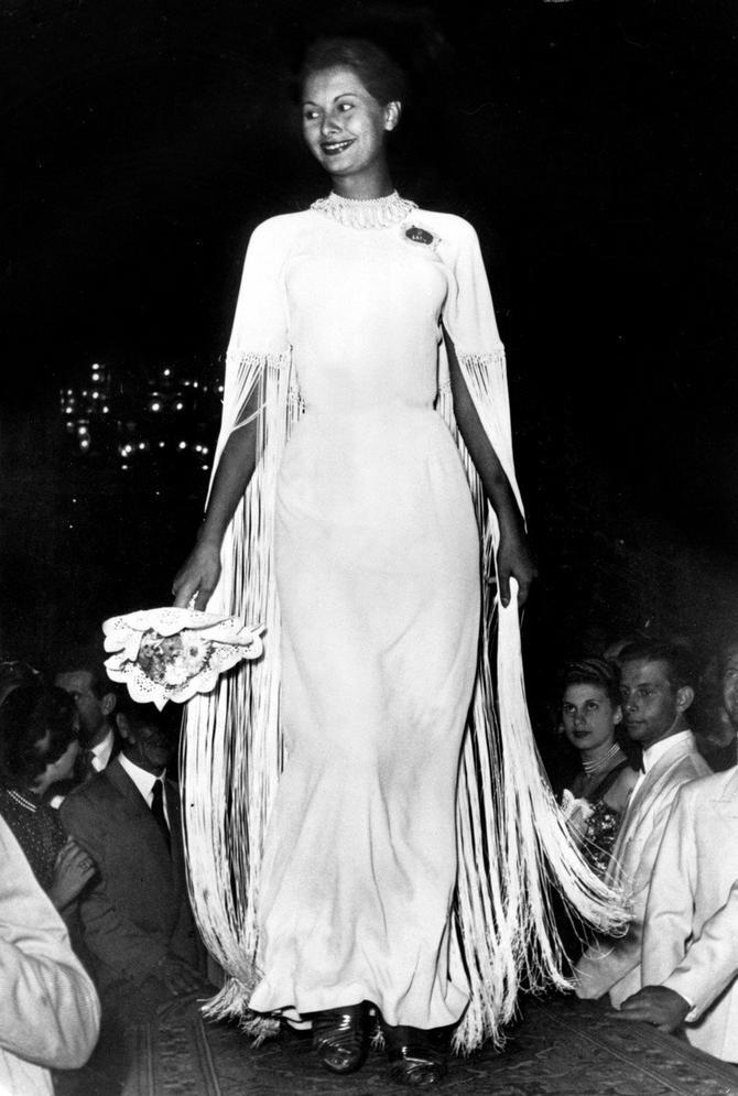 Sofija na izboru za Mis Italije