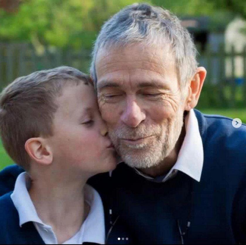 Ethan z nieżyjącym dziadkiem