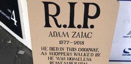 Uczcili pamięć 41-letniego Polaka, który zmarł w Wielkiej Brytanii