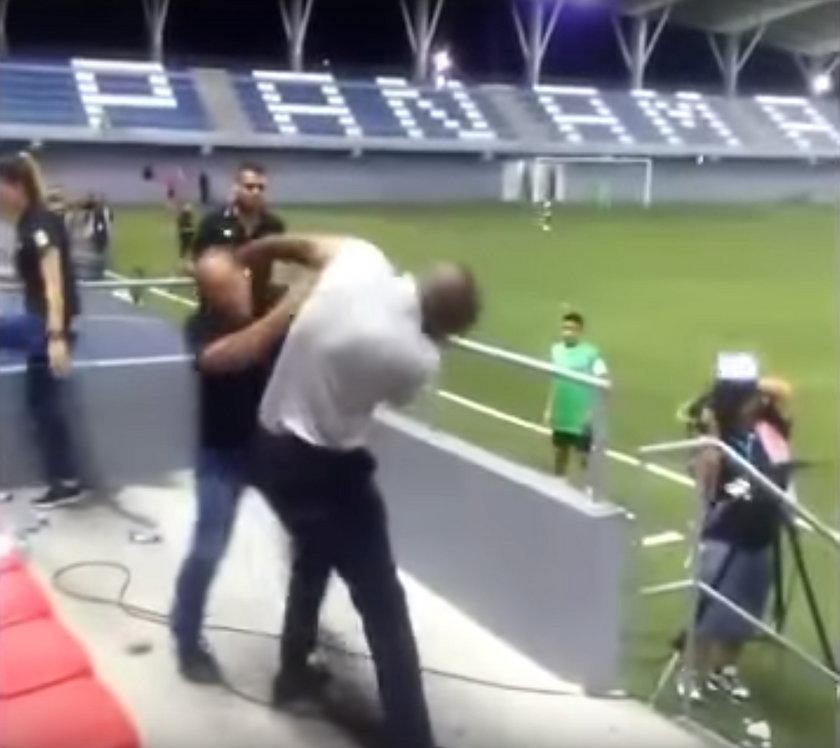 Piłkarska legenda w szale agresji!