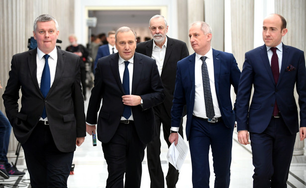 Opozycja chce dostać się na galerię sali posiedzeń Sejmu