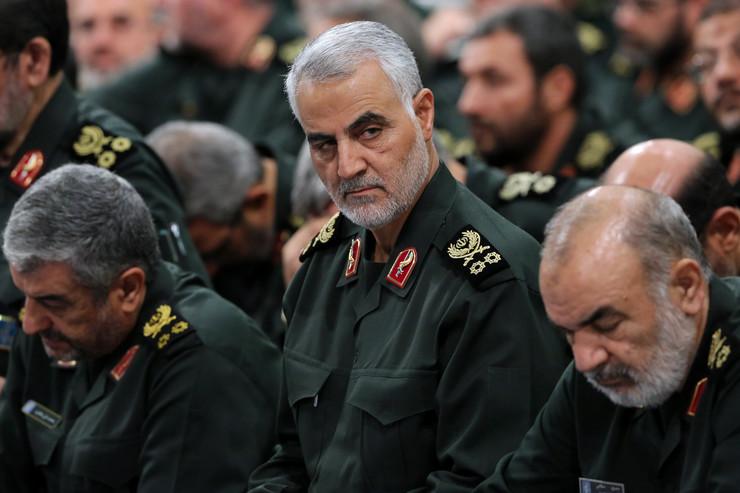 Qasem Soleimani 04 foto EPA iranian supreme leader's office