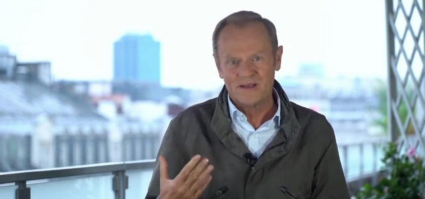 Donald Tusk apeluje do prezesa PiS: Jarosławie, wyjdź do ludzi i powiedz, co zamierzasz zrobić z zielonymi ludzikami